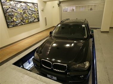 Robotic parking
