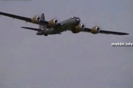 B29 Dina Might RC plane