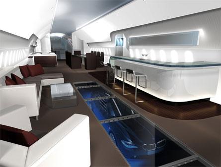 Boeing 787 VIP interior
