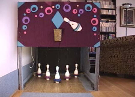 DIY Bowling Alley