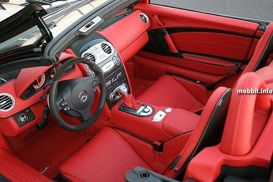 Brabus Mercedes McLaren SLR Roadster