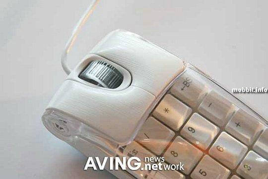 EzKEY mouse & numeric key-pad