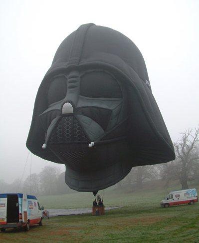 Darth Vader-baloon