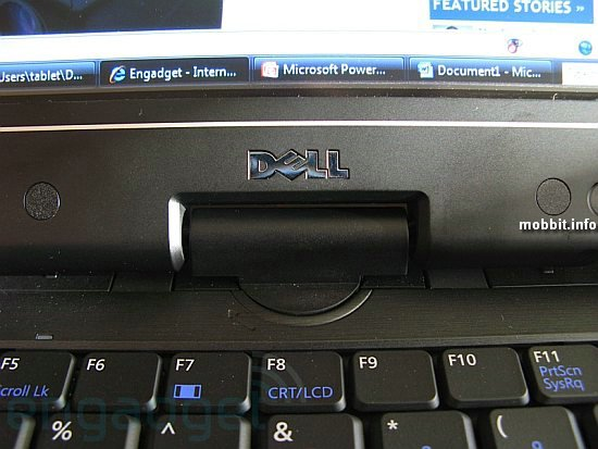 Dell Latitude XT tablet