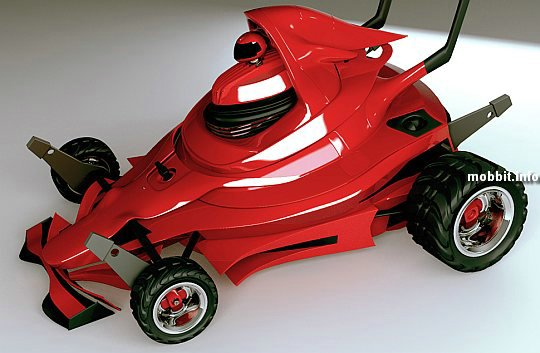 F1-lawnmower