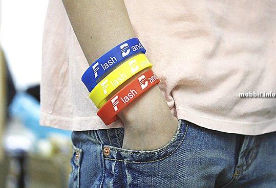 USB-Flash Wrist Band