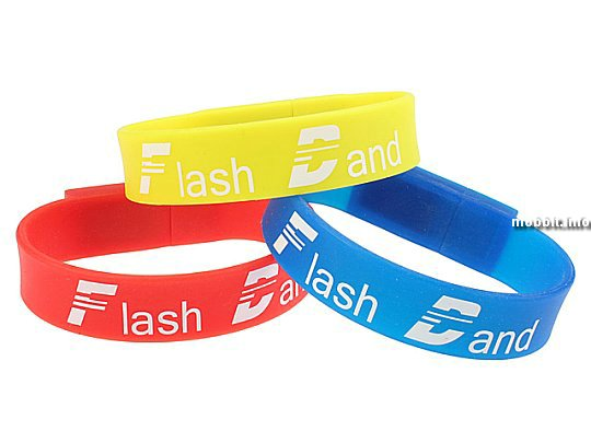 USB-Flash Wrist Band