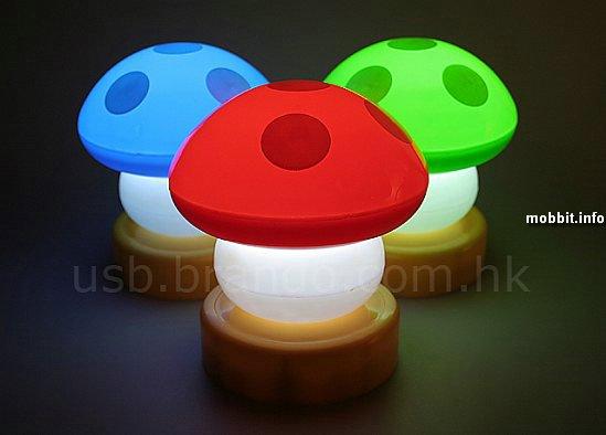 LED-mushrooms