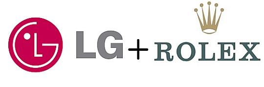 LG + Rolex