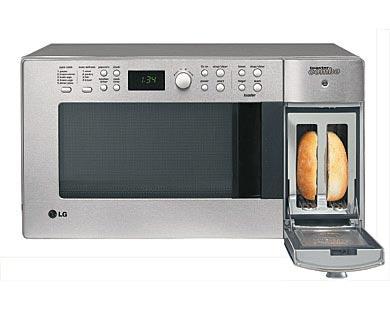 LG combo microwave