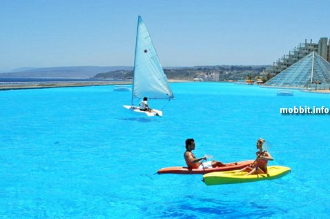 Lagoon swimming pool