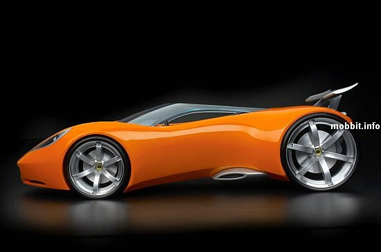 Lotus and Hot Wheels concept