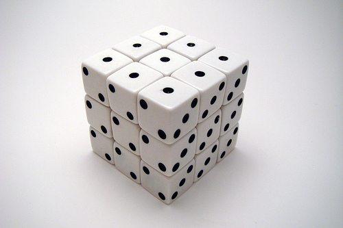 А именно - магнитный кубик Рубика из игральных костей.  Для...  По материалам instructables.com, а также...