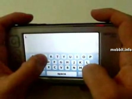 Nokia N800 & virtual keyboard