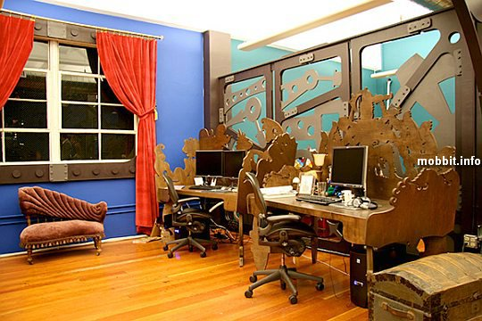 Three Rings Design's office