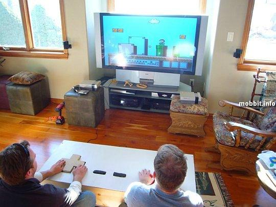 giant Nintendo controller