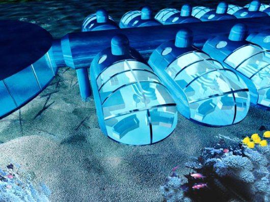 Номера с видом на подводный мир