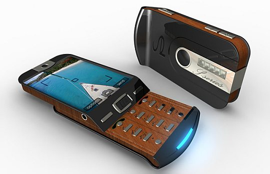 Ziricote Luxury Wooden Phone