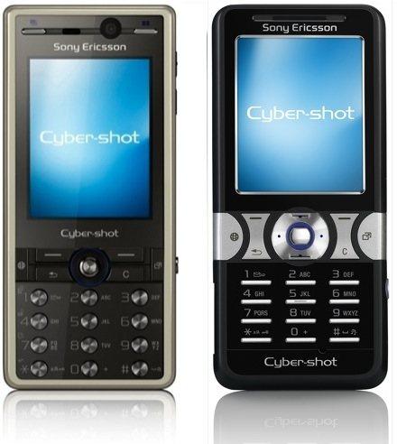 Sony Ericsson K810, K550