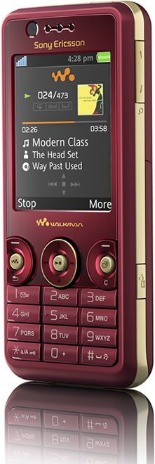 Sony Ericsson Walkman W660