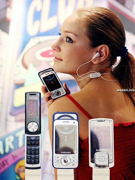 Samsung SGH-i450, SGH-F330, SGH-F210