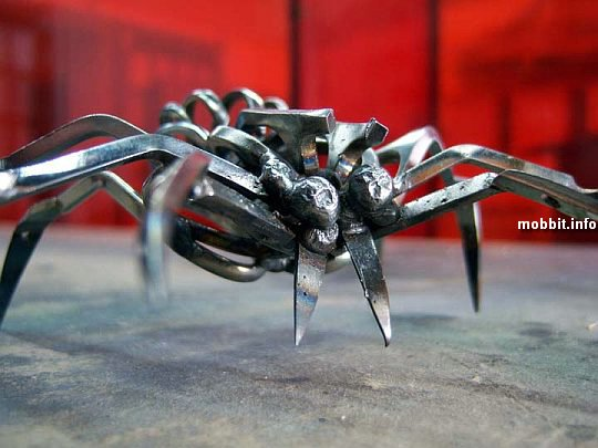 Scissors-Spiders