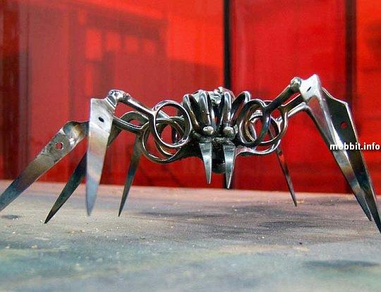 Что можно сделать из ножниц.