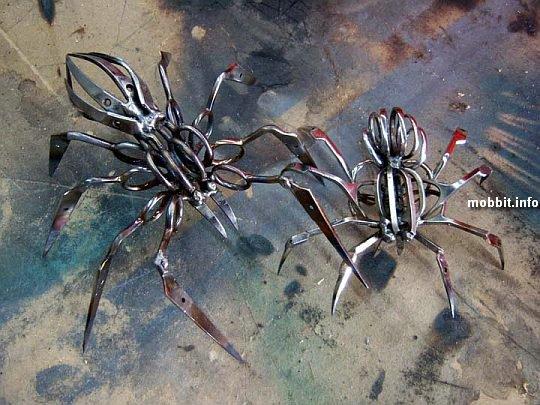 Scissors-Spiders