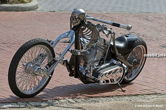 Skeleton-bike