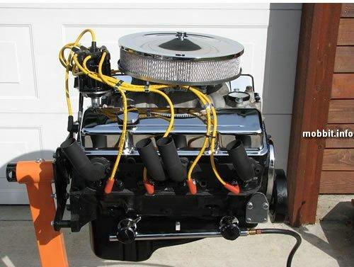 V8 engine Grill