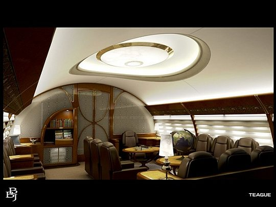 VIP-designs for airplanes