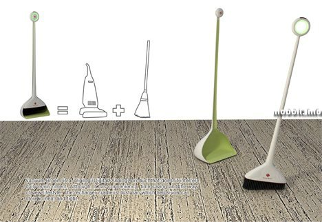 vacuum broom