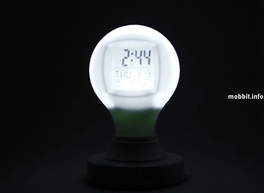 bulb alarm-clock