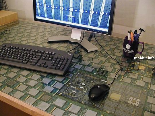 Computer Chip Table