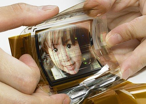 Sony flexible OLED