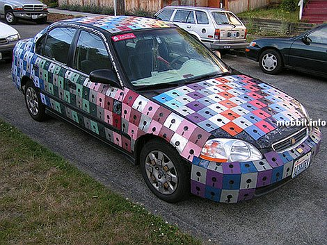 floppy disc car tuning