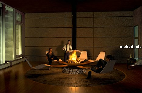 home-fireplace concept