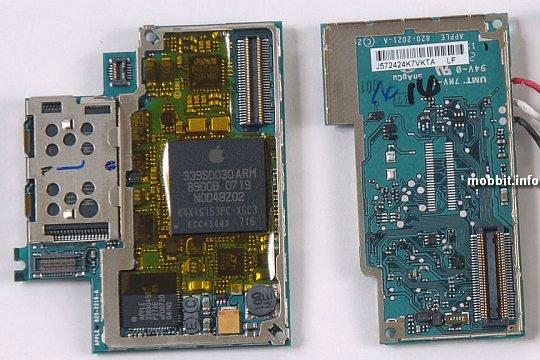 iPhone inside