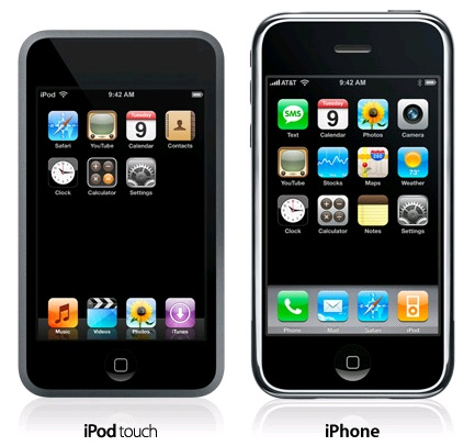 iPod Touch vs. iPhone