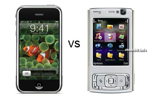 iPhone vs Nokia N95