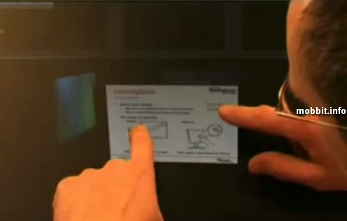 Microsoft multi-touch laptop