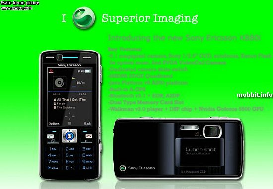 Sony Ericsson K880