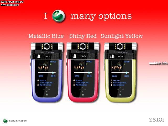 Sony Ericsson Z810
