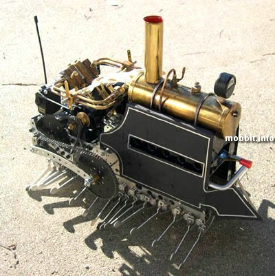 steam centipede