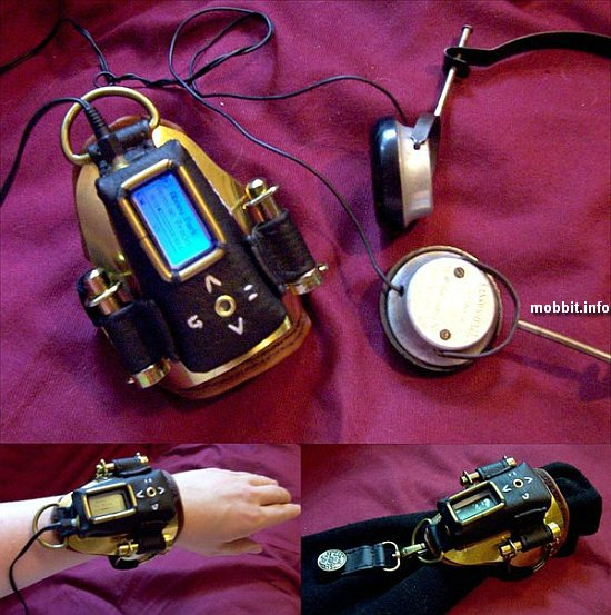 steampunk MP3-player