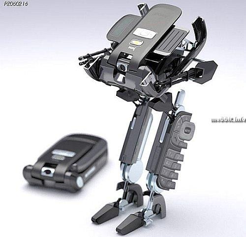 transformer-phone concept