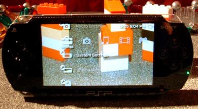transparent PSP