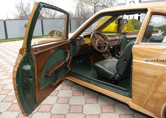 ukrainian wooden car