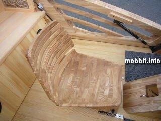 wooden supercar