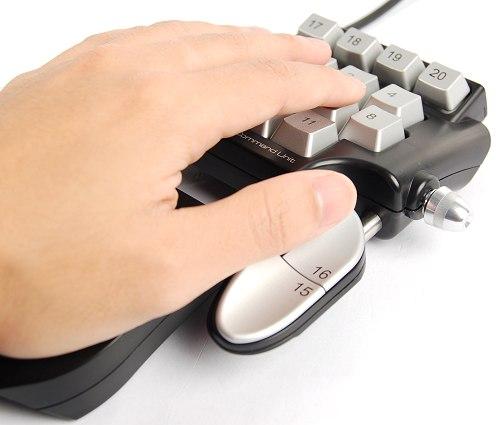 21 клавишная клавиатура